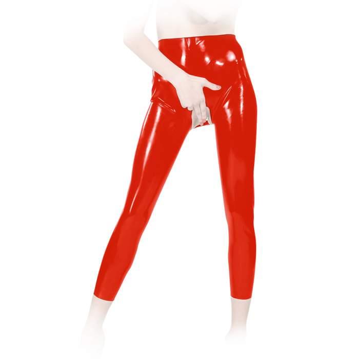 anita berg extravagante latex leggings hose ouvert in diversen farben ebay. Black Bedroom Furniture Sets. Home Design Ideas