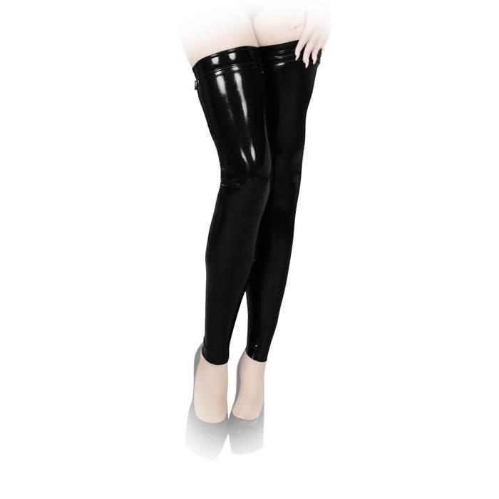 Insistline Enge Datex Beinstulpen ohne Fuß mit Zip in diversen Farben